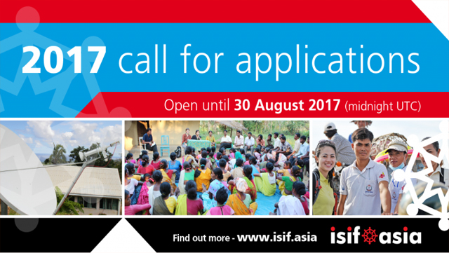 Apply now! 155K AUD available to support Internet development for 2017